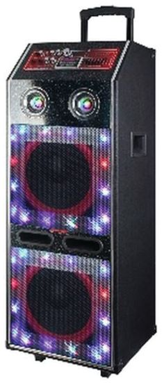Dropship Wholesale MAx Power 2x12 Rechargeable DJ system