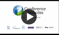 Conference-Websites is a website builder platform which enables a non-skilled marketer to crea. Event Marketing, Marketing Tools, Live Events, Conference, Platform, Website, Events, Heel, Wedge