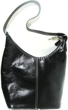 Fossil Women Leather Handbag Shoulder Bag Black.  SSS 16 #Fossil #ShoulderBag