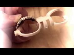 Customizing my Blythe Part 8: Adding Eyelashes - YouTube