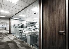 Mampara de oficina colección  Neo diseñada por Mimbrery.