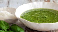 Frederic shares helpful tips for making and storing fresh basil pesto.