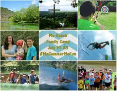 Ever wished you could go back to the days of summer camp? You can! #FamilyCamp #MoRanch #Hunt #Texas #MoSummerMoFun #SummerCamp