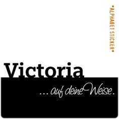 www.aufdeineweise.de · VICTORIA – SCRAPBOOKING ALPHABET STICKERS · Made in Germany · Format / Konzept: KLASSIK. Alphabet Stickers, Victoria, Scrapbook, How To Make, Concept, Scrapbooking, Guest Books, Scrapbooks