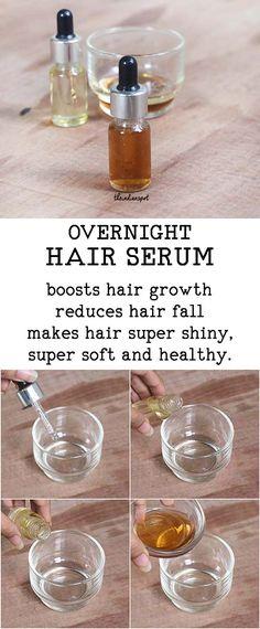 OVERNIGHT HAIR SERUM get longer stronger hair