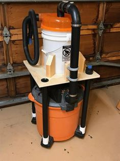 Dustopper High Efficiency Dust Separator, 12 in. Dia with in. Hose, 36 in. Long at The Home Depot - Mobile