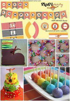 Viele süße Ideen für Deine Pippi Langstrumpf-Party.    Vielen Dank für diese Ideen  Dein balloonas.com    #balloonas #kindergeburtstag #party #pippi #langstrumpf #idee