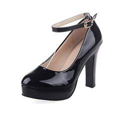 Pitillos Mujer Tacon Piel Zapatos Zapato Alto De 6 5285 Tira vdqg6vpw