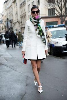 Giovanna Battaglia, Cool Street Fashion, Street Style Women, Love Fashion, Street Styles, Style Fashion, Stockholm Street Style, Paris Street, Chic Outfits