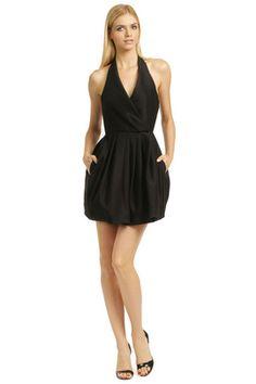 Weekly Summer Steals: Halston Heritage - Call The Kettle Black Dress. Teen Fashion 2014, Lil Black Dress, Cute Fashion, Women's Fashion, Sexy Outfits, Pretty Dresses, Dress To Impress, Designer Dresses, Fashion Dresses