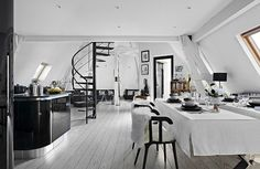 30 Black And White Rooms That Will Never Go Out Of Style  - ELLEDecor.com