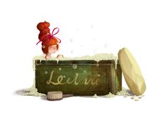 The Borrowers by Emilia Dziubak, via Behance