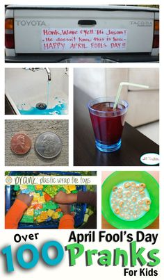 It's almost that time of year! Make sure you're ready with these 100+ April Fools Day pranks for kids.