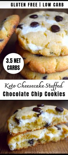 Low Carb Sweets, Low Carb Desserts, Low Carb Recipes, Dessert Recipes, Cookie Recipes, Diabetic Desserts, Diabetic Recipes, Drink Recipes, Keto Cookies