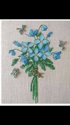 This Pin was discovered by İsm Small Cross Stitch, Cross Stitch Heart, Cute Cross Stitch, Cross Stitch Borders, Cross Stitch Flowers, Cross Stitch Designs, Cross Stitching, Cross Stitch Embroidery, Cross Stitch Patterns