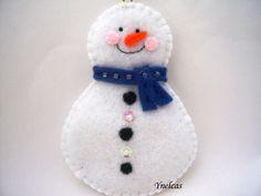 Pupazzo di neve di natale ornamento  pupazzo di neve