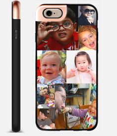 Customize a case for your cell phone that will make you smile every time. | 33 Incredible Things You Can Do With Your Family Photos