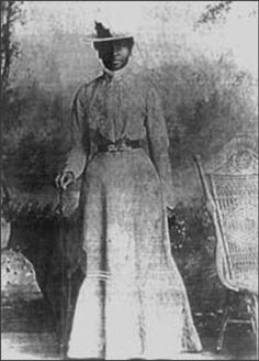 Mary Elizabeth Bowser, former slave, and union spy who worked undercover in the Confederate White House.