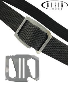 Bison Designs Kool Tool™ Belt...you won't believe how many things this innovative belt buckle can do!