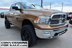 2012 Dodge Ram 1500 SLT Lone Star Crew Cab Lifted Truck