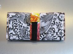 Money Cash Envelope System Wallet from wandv | Check out patterns on Craftsy!