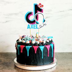 Sjokoladekake med sjokoladetrøffelfyll Birthday Cake, Desserts, Food, Kuchen, Tailgate Desserts, Deserts, Birthday Cakes, Essen, Postres