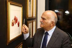 "HRH Prince El Hassan bin Talal, ""Botanicals"" Exhibition, Amman, Jordan, March-April 2016"
