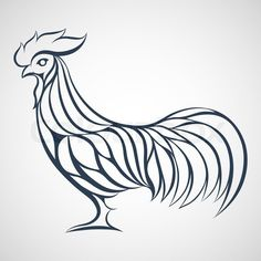 Rooster logo | vector_preview_title | Colourbox on Colourbox
