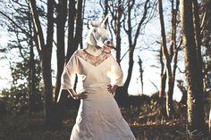 Robe: Jeanne Lannurien Credits: WAT Photography Modele: Aude #jeannelannurien #bride #wedding #dress #frenchstylist #madetomeasure #mariage #shooting #robedemariee #fun #unicorn #licorne #original #creatricederobedemariee #bretagne #france   #surmesure #WeddingDresses #mariee #decollete  #futuremariee #lace #dentelle
