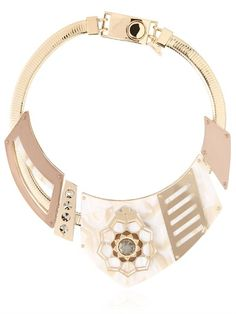 Ledaotto Lotus Temple necklace