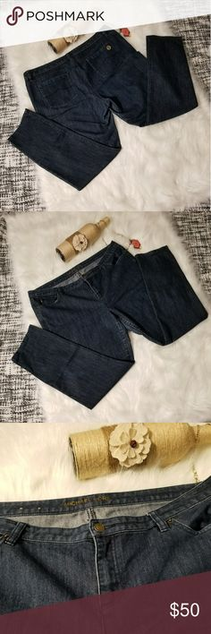🌻🌺🌻MICHAEL KORS SKINNY JEANS!! MICHAEL KORS SKINNY JEANS!! Size 16. EUC, has very very slight fade in inner thigh lining and some pulling on the INSIDE of front pockets. Has logo on front and metal emblem on back pocket. Posh Ambassador, buy with confidence! Check out my other items to bundle and save on shipping! Reasonable offers welcome. I ship same or next day! Michael Kors Jeans
