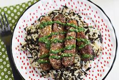 Tempeh Steaks with Chimichurri Sauce