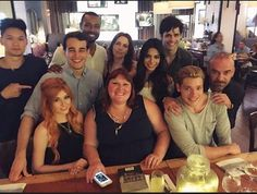 Love this cast #Shadowhunters