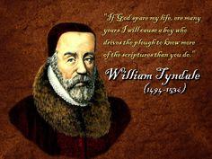 Tyndale eröffnete dem Volk den Zugang zur Bibel