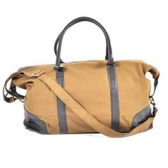 bd2e16bb5c Cancun Canvas Leather Weekender
