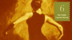 A walk in the score - De Falla - Canción from Siete canciones populares españolas