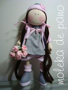 Boneca Virgínia - 65 cm altura