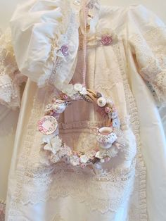 Angela Lace: Victorian Style Baby Dress