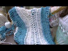 4d5089f874 Mulher.com - 23 09 2015 - Blusa Saída de praia em crochê de grampo - Helen  Mareth P2