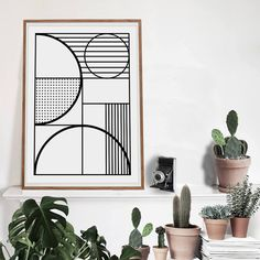 Lux Art Print Seven designed by Vontrueba made in Spain as part of Home Accessories and Home Decor and Posters & Prints tagged Black & White Wall Art and Geometric Home Accessories - image 1 on CROWDYHOSUE Scandinavian Style, Scandinavian Interiors, Scandinavian Wall Decor, Big Wall Art, Scandi Home, Black And White Wall Art, Black White, White Walls, Poster Prints