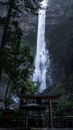 Fall From Heavens Nachi Great Waterfall UNESCO World Heritage - Calming photos of japans landscapes captured by hidenobu suzuki