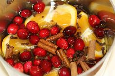 Stove top Christmas scent! One batch stays good for weeks, you just add water and heat it on low whenever you want it