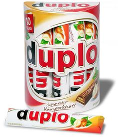 dublo candy. Love this German candy