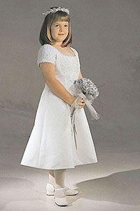Flower Girl Dresses - Sweetie Pie Collection- Flower Girl Dress / Communion Style 676
