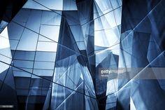 ストックフォト : 抽象的なガラスの建築