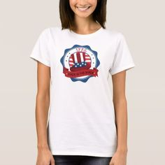 #Patriotic Made in the Shade T-Shirt - #4thofjuly #patriotic #patriot Independence Day Fourth of July July Fourth waving the flag