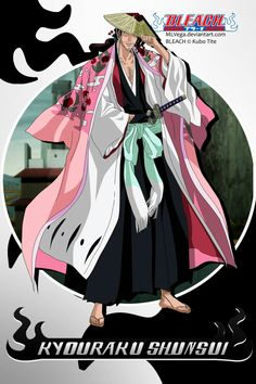 [ img] - bleach shunsui PNG Transparent image for free, [ img] - bleach shunsui clipart picture with no background high quality, Search more creative PNG resources with no backgrounds on toppng Bleach Art, Bleach Manga, Bleach Captains, Kubo Tite, Bleach Characters, Anime Merchandise, Gurren Lagann, Shinigami, Anime Comics