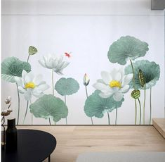 Large Leaf Wall Decals Green plant Removable Leaves  Wallpaper Stickers Colorful Living Room Bedroom Decoration G175