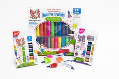Enter to win the Mess-Free Creativity Paint Set Giveaway! Giveaway compliments of AllFreeKidsCrafts and The Pencil Grip!