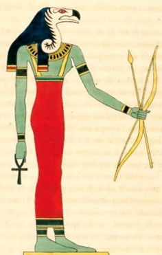 Nekhbet: Tutelary Egyptian Goddess of Upper Egypt and protector of the Nisu.